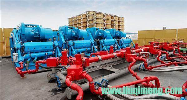 宏华6000HP电动压裂系统